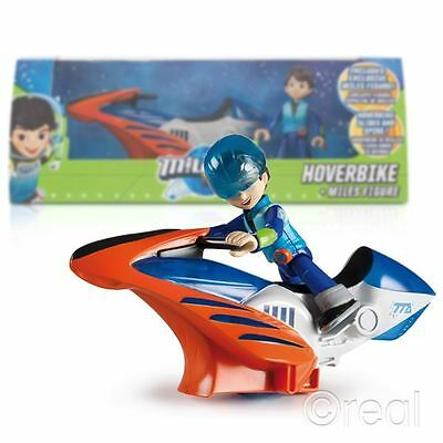 New Miles From Tomorrow Hoverbike & Action Figure Vehicle Disney Official
