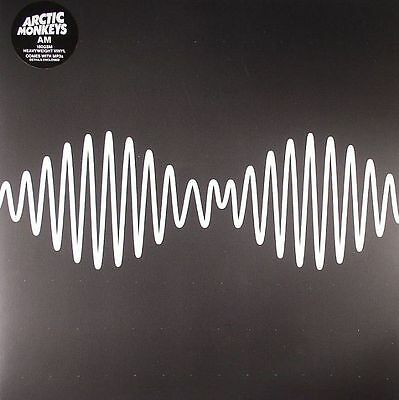 ARCTIC MONKEYS - AM - Vinyl (gatefold 180 gram vinyl LP + MP3 download code)