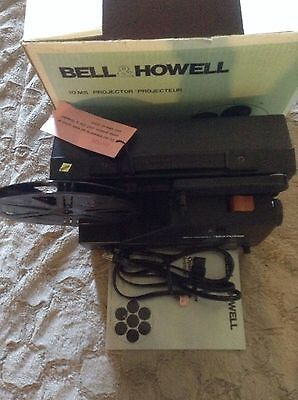 Bell & Howell Variable Speed 10MS Dual Eight and Super 8 Film Projector 8mm 1979