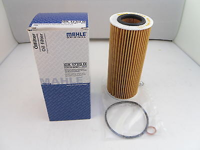 Oil Filter BMW 3 5 6 7 Series X3 X5 X6 2.5 3.0 Diesel 03 to 12 MAHLE OX177/3D