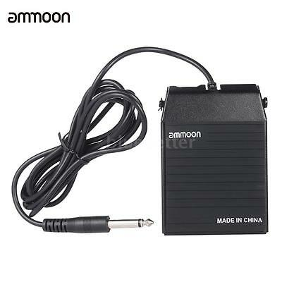ammoon Universal Sustain Pedal Metal Body For All Electronic Piano Keyboard A6X7