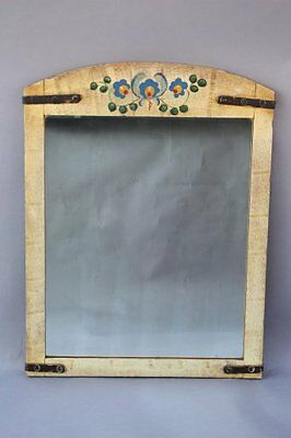 1930s Handsome Hand Painted Monterey Mirror Antique Home Decor (7716)