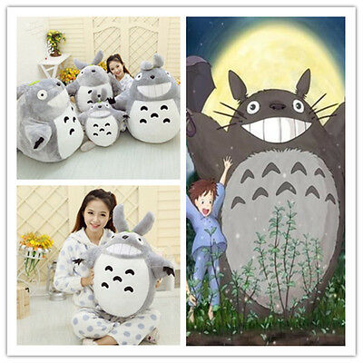 HOT Anime My Neighbor Totoro Smiling Plush Toy Stuffed Soft Doll Kids Gifts 60cm