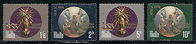 MALTA 1971 MNH SC.428/431 St.Joseph and Our Lady of Victory