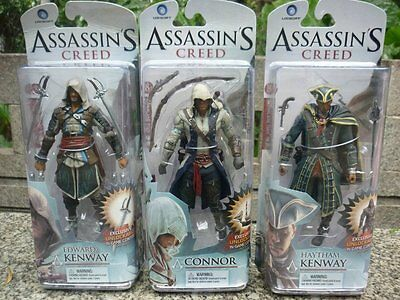 """McFarlane Toys Assassin's Creed IV Black Flag Connor 15cm/6"""" Action Figure Toys"""