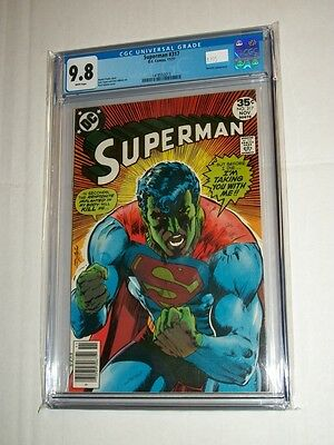 DC SUPERMAN #317 CGC 9.8 Metallo Appearance & Neal Adams Cover