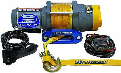 Superwinch 1135230 Terra 35 3500lbs/1591kg single line pull with hawse handle...