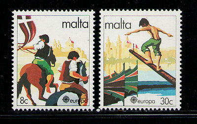 MALTA 1981 MNH SC.584/585 Europe Issue CEPT