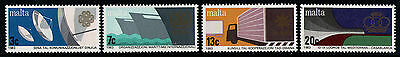 MALTA 1983 MNH SC.629/632 World Communications Day