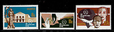 MALTA 1986 MNH SC.674/676 Int.Peace Year