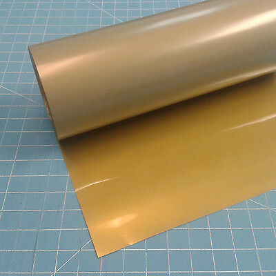 "Gold Siser EasyWeed 15"" by 5 Feet  Heat Transfer Vinyl"
