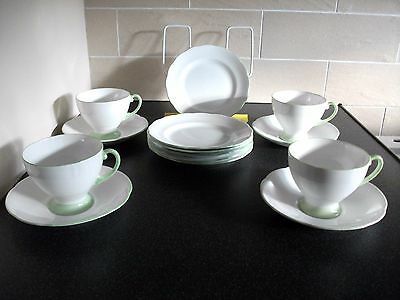 Royal Standard  Tea Cups Saucers & Tea Plates  Tea Set - 14 Piece