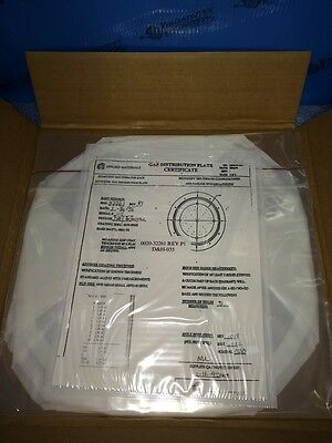 0020-32261 Amat Gas Dist Plate,101 Holes .156 Thick