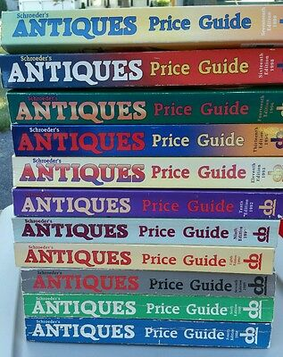 Schroeders antiques price guide PRICE IS PER BOOK!