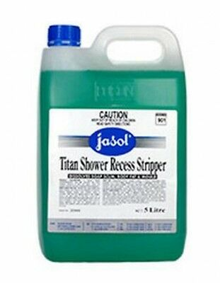 5 litre - Jasol Titan Shower Recess Stripper - Household Cleaning Products