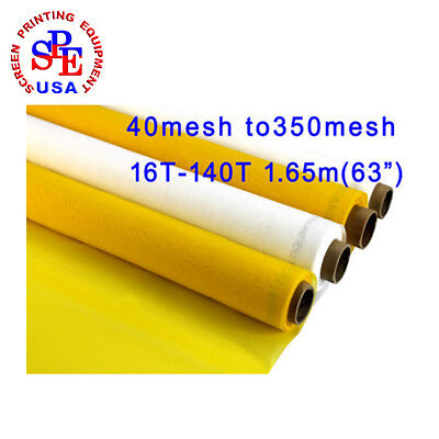 40 Yard mesh 40 TO 350 x 63 inches Width Fabric Silk Screen A Roll Whole Roll