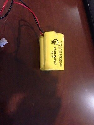 Emergency Light Exit Sign 4.8V 700mAh NiCad Battery FREE SHIPPING