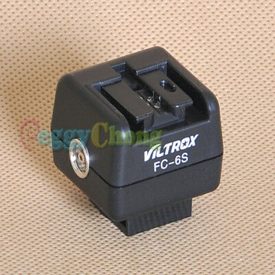 FC-6S Hot-shoe Adapter Remote Wireless Flash Controller for Sony Konica Minolta
