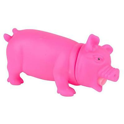 CUTE SNORTING SQUEEZE PIG TOY!!! farm animals figures hog piglet