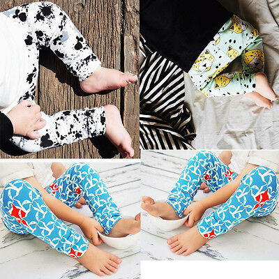 Fox Lion Newborn Baby Boys Girls Bottoms Harem Pants Leggings Trousers IN 0-24M
