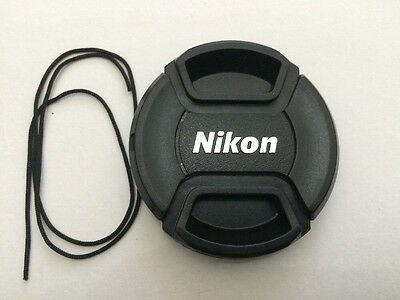 Lc-72 72Mm Nikon Snap-On Centre Pinch Front Lens Cap Uk Stock