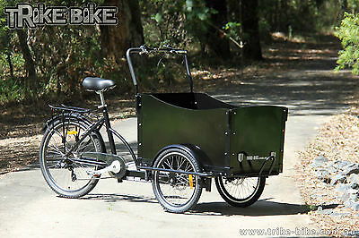 Trike Bike Adult Cargo Trike 6 Speed Shimano Gears Disk Brakes Quality Product