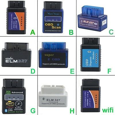 ELM327 V2.1 OBD2 CAN-BUS WIFI or Bluetooth Car Auto Diagnostic Interface Scanner