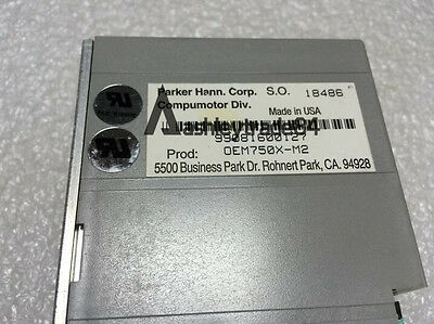 Used Parker OEM750X-M2 stepping motor driver Tested