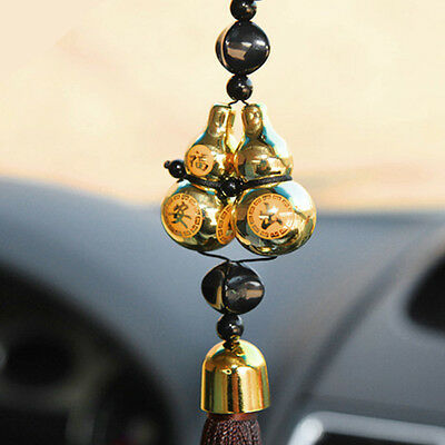 Gourd Lucky Charm Pendant Auto Car Rear View Mirror Hanging Decoration Ornaments