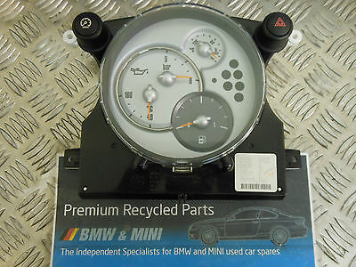 Bmw Mini R50 R52 R53 Central Instrument Cluster For Chrono Pack 6953548