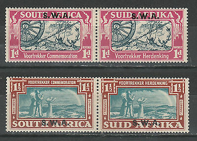 South West Africa 1938 Voortrekker Set Pairs
