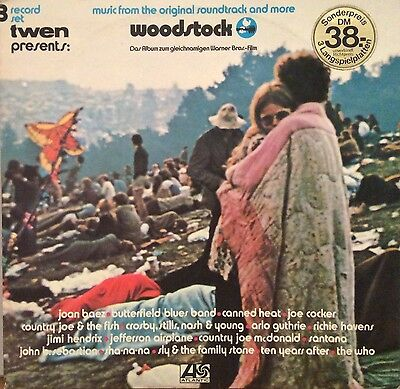 WOODSTOCK Music from original soundtrack and more 3 LP