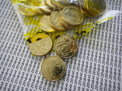 2016-AUSTRALIAN -$1-ONE DOLLAR- MOR - MOB OF ROOS Coin- UNC-Ex-Security Bag