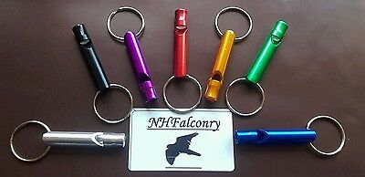 Falconry Metal Whistle Great Sound Choose Your Colour *Great sound* *10/10*