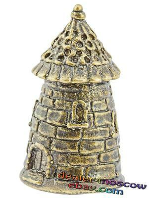 Bronze Solid Brass IronWork Original Thimble Medieval Tower 1126
