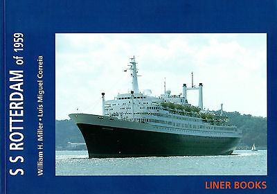 """""""S.S. ROTTERDAM of 1959"""" by Bill Miller & Luis Correia-NAUTIQUES sHiPs WORLDWIDE"""