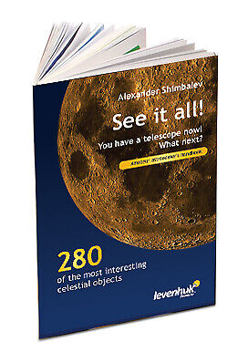 "NEW Levenhuk 60973 ""See it all!"" Astonomer's Handbook by A.A. Shimbalev"