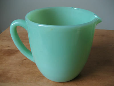 Vintage Fire King Jadite Green Breakfast Milk Pitcher 20 0Z