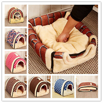 Dual purpose portable unpick and wash lightweight Dog kennel Pet house Pet beds!