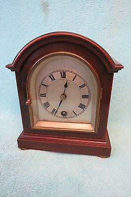 Small Antique Winterhalder & Hofmeier Bracket Clock