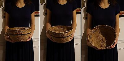 Large Early 1900 Native American Pacific NW Chehalis Basket