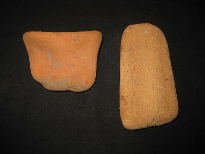 2 Antique Authentic Terracota Roman Amphora Amphorae Pieces I/vi Ad