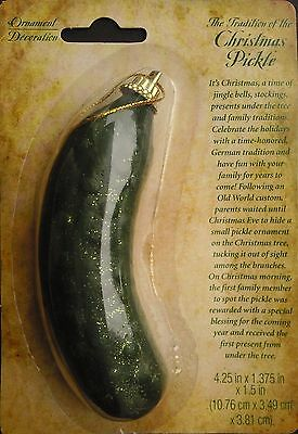 Christmas Pickle German Holiday Tree Ornaments New