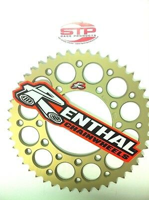 Renthal Ultralight Hard Anodised Rear Sprocket 43 tooth fits 520 Chain Yamaha R6