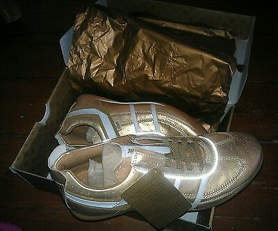 AUTHENTIC OLYMPIC GAMES HOKEY GOLD SHOES by Pony / 1 of the 776 made - No.547