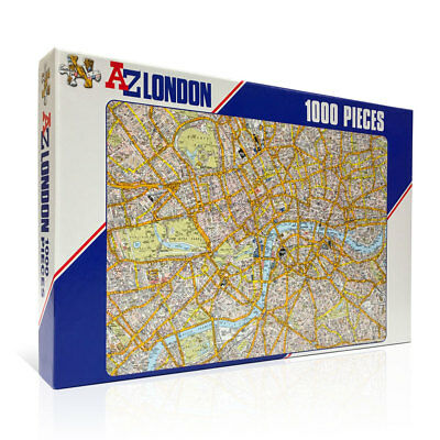 London A-Z Map Jigsaw Puzzle 1000 Piece