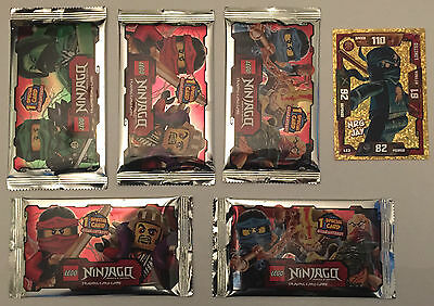 Lego Ninjago Masters Of Spinjitzu Trading Cards Multi Pack With Exclusive Card