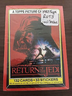 1983 Topps Return of the Jedi - FULL SET INCLUDING STICKERS