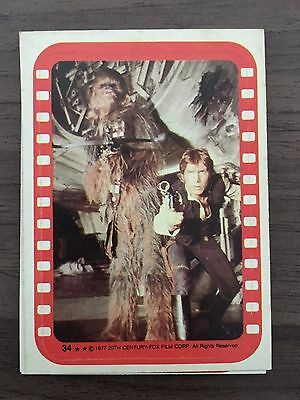 1977 Star Wars Series 4 STICKERS SET Topps Vintage Cards 11 Green Complete