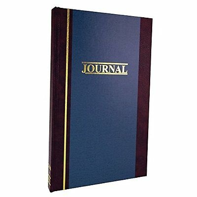 "Wilson Jones S300 Line Journal Account Book, 11-3/4"" x 7-1/4"" Pages, 33 Lines to"